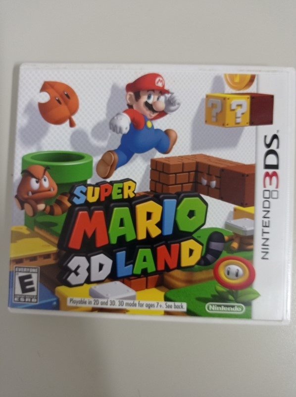 Super Mario 3D Land - USADO - Nintendo 3DS