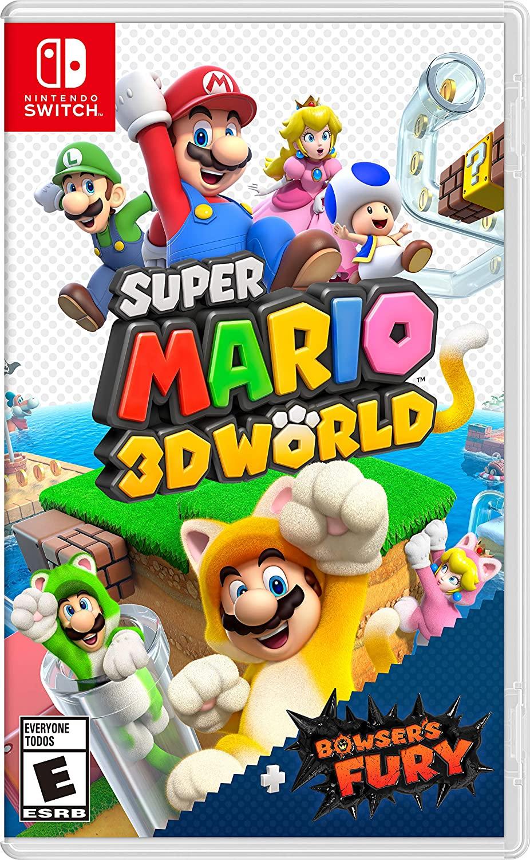 Super Mario 3D World + Bowser's Fury - Nintendo Switch - Pré venda - Envio Grátis Internacional