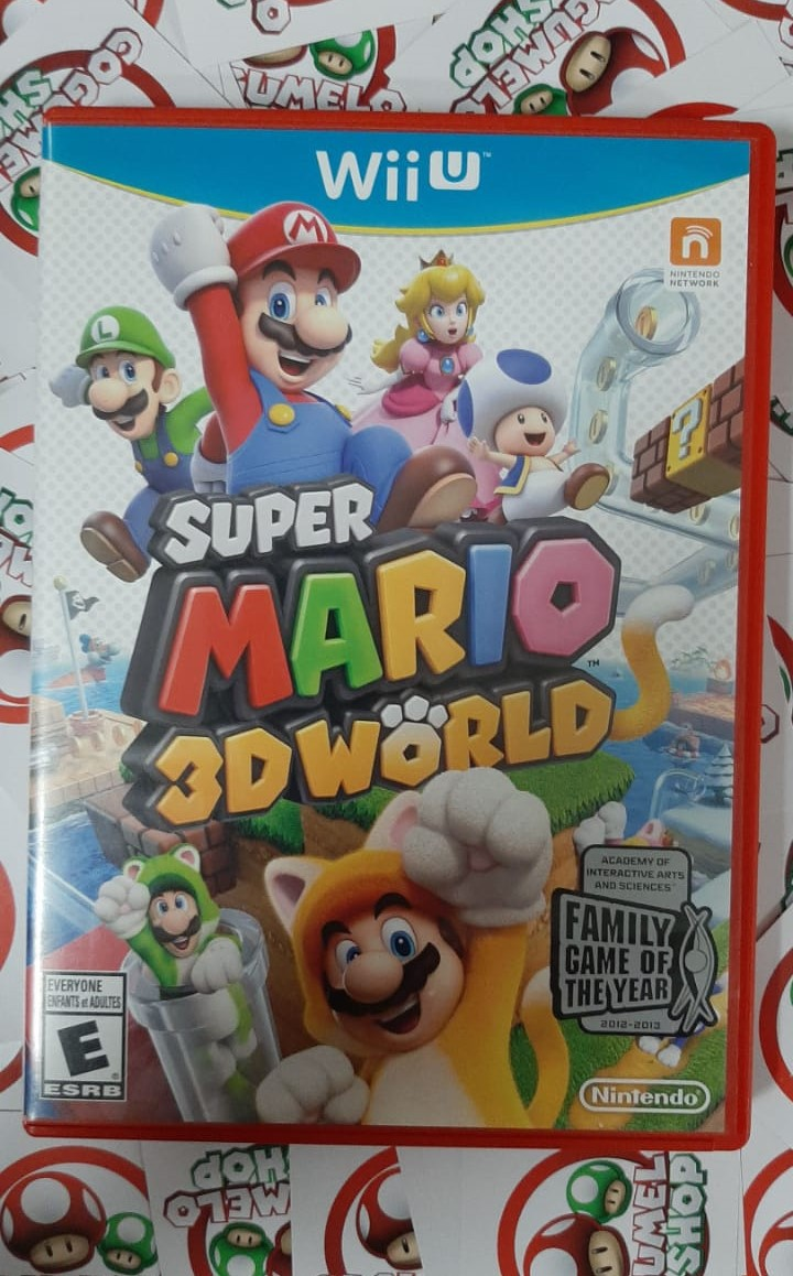 Super Mario 3D World - USADO - Nintendo Wii U
