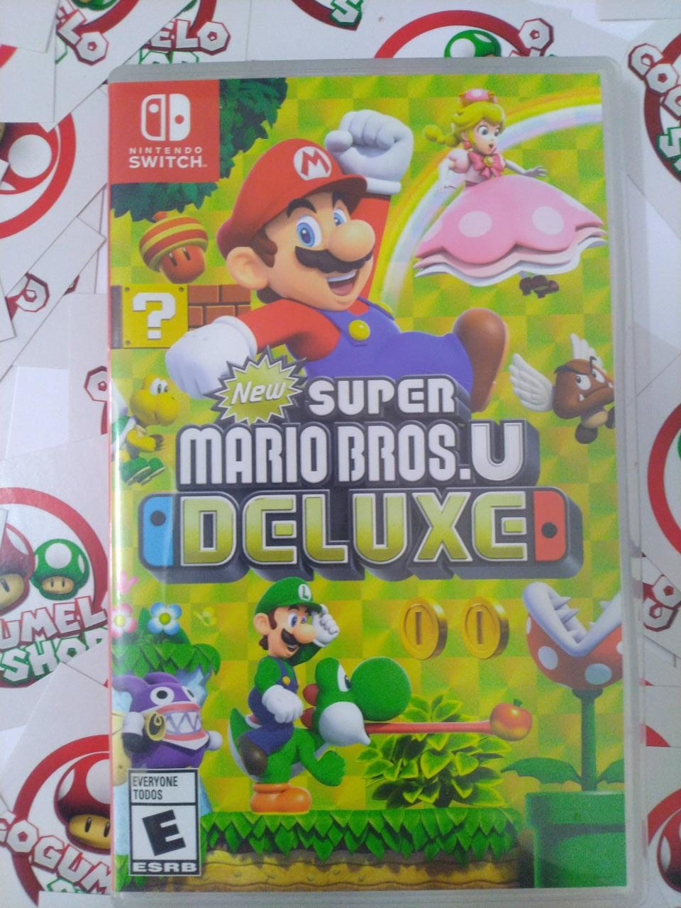 Super Mario Bros. U Deluxe - USADO - Nintendo Switch