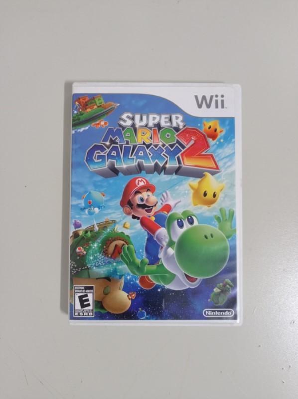Super Mario Galaxy 2 - USADO - Nintendo Wii
