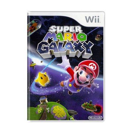 Super Mario Galaxy - USADO - Nintendo Wii