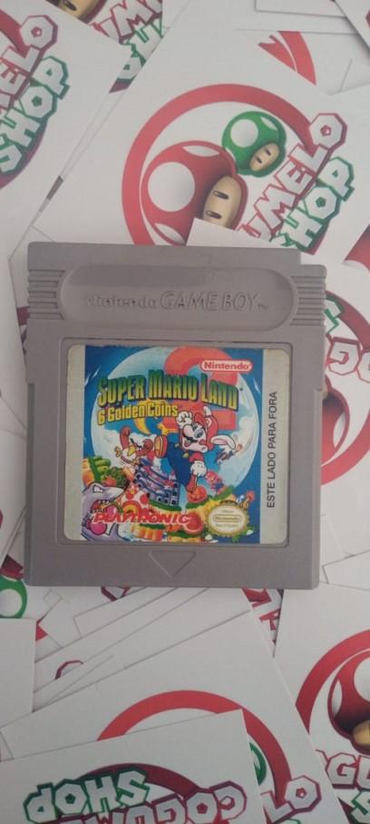 Super Mario Land 2: 6 Golden Coins - USADO - Nintendo Game Boy