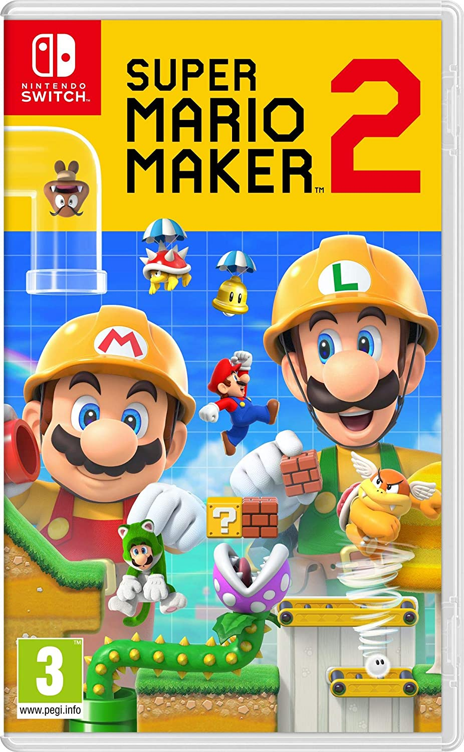 Super Mario Maker 2 (EUR) - Nintendo Switch - Envio internacional