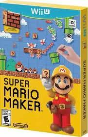 Super Mario Maker USADO  - Nintendo Wii U