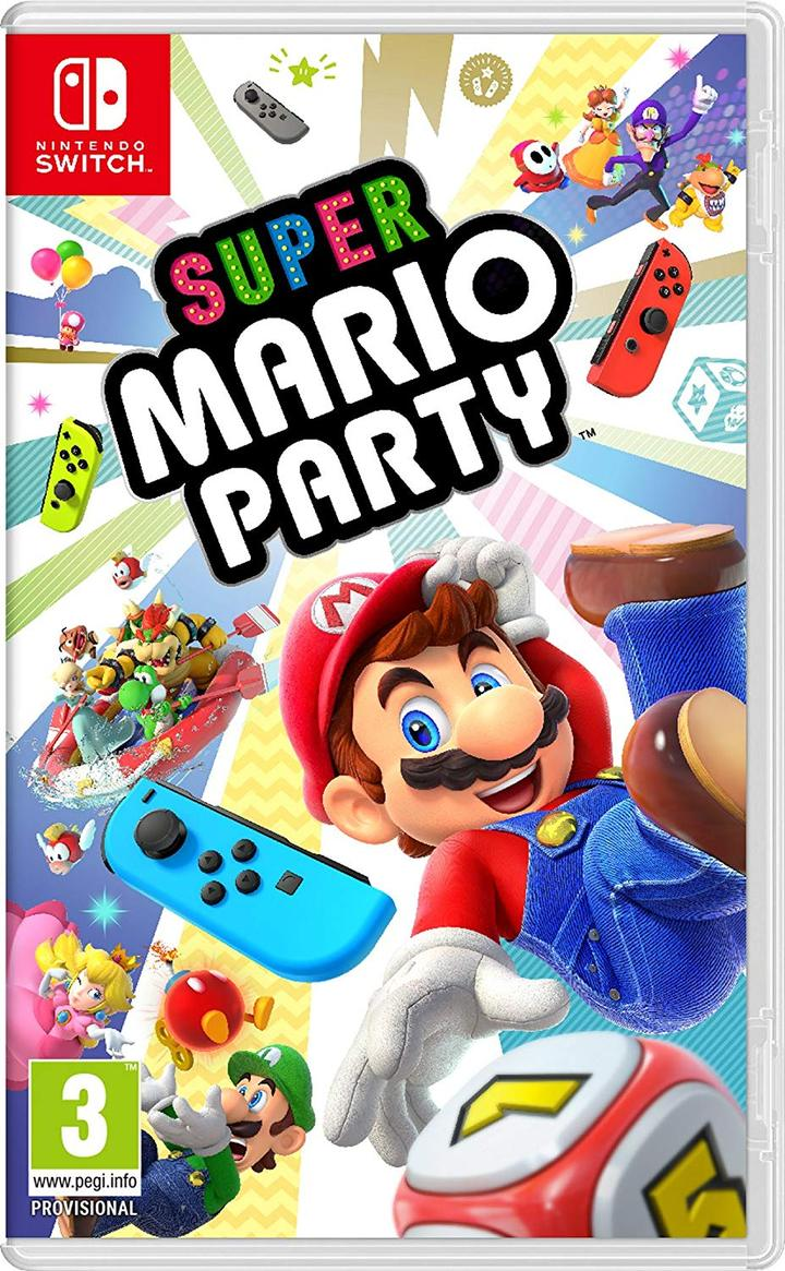 Super Mario Party - Nintendo Switch - Envio Internacional - Frete Grátis