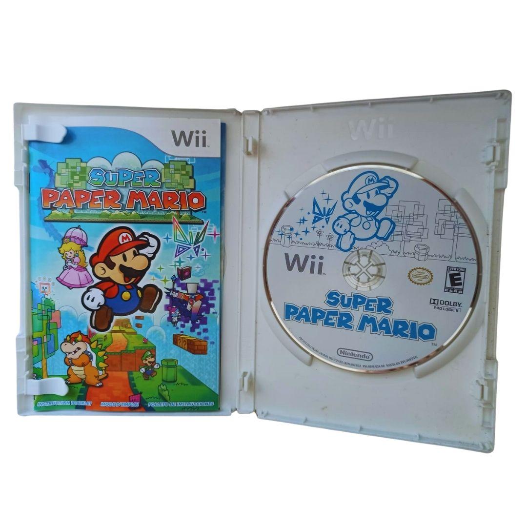 Super Paper Mario - Nintendo Wii - Usado