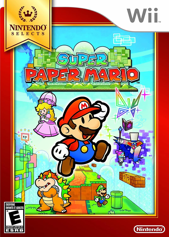 Super Paper Mario - USADO - Nintendo Wii