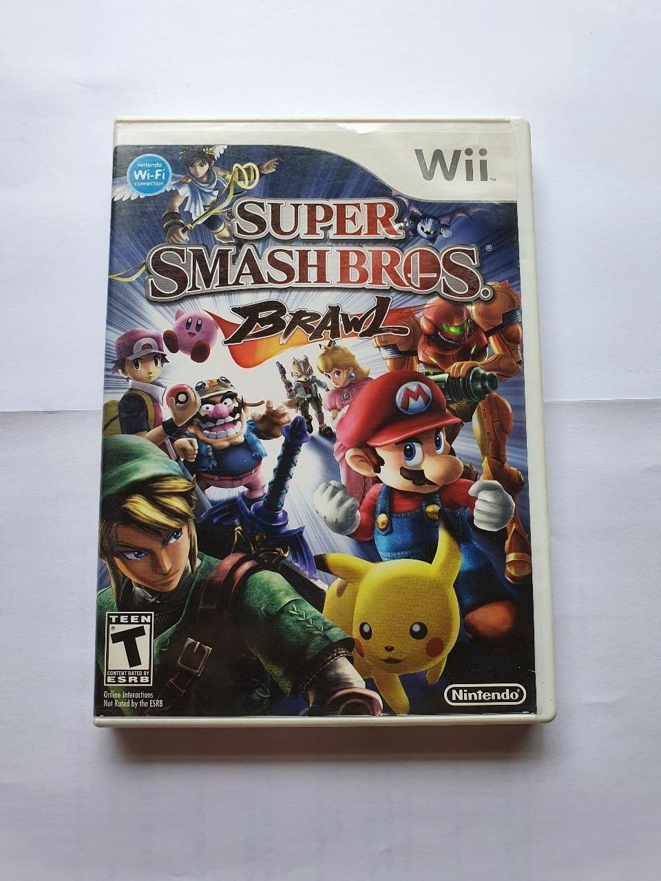 Super Smash Bros Brawl - Usado - Wii