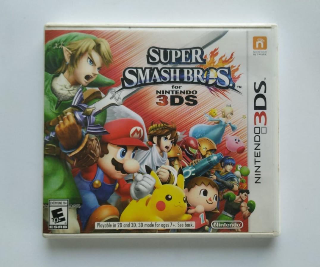 Super Smash Bros. for Nintendo 3DS - Nintendo 3DS - Usado