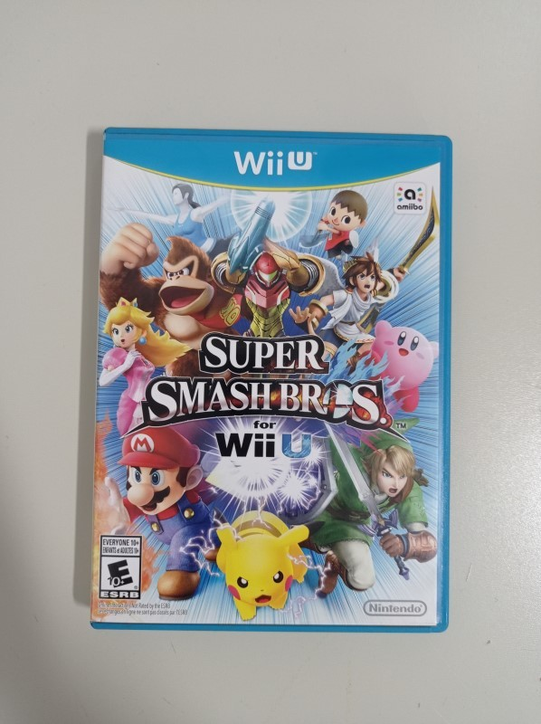 Super Smash Bros. for Wii U - USADO - Nintendo Wii U