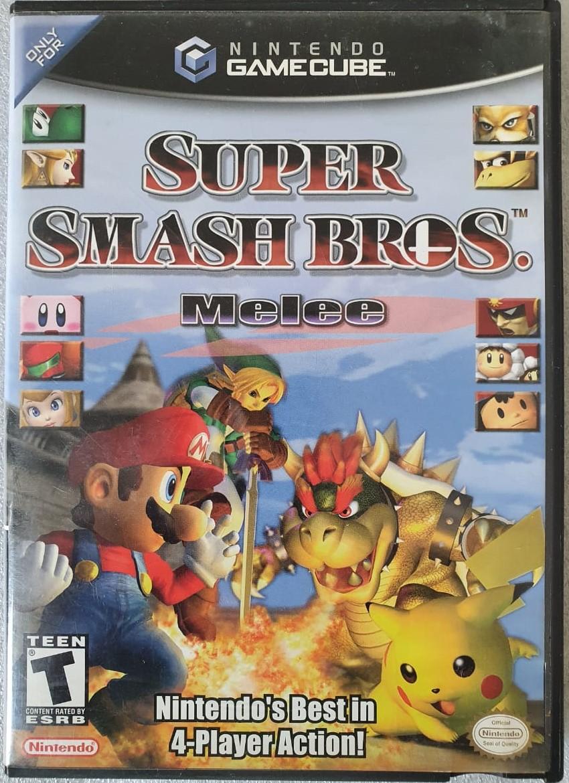 Super Smash Bros. Melee - USADO - Nintendo GameCube