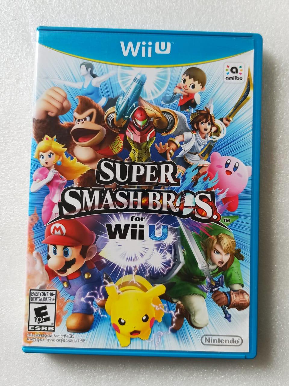 Super Smash Bros. - USADO - Nintendo Wii U