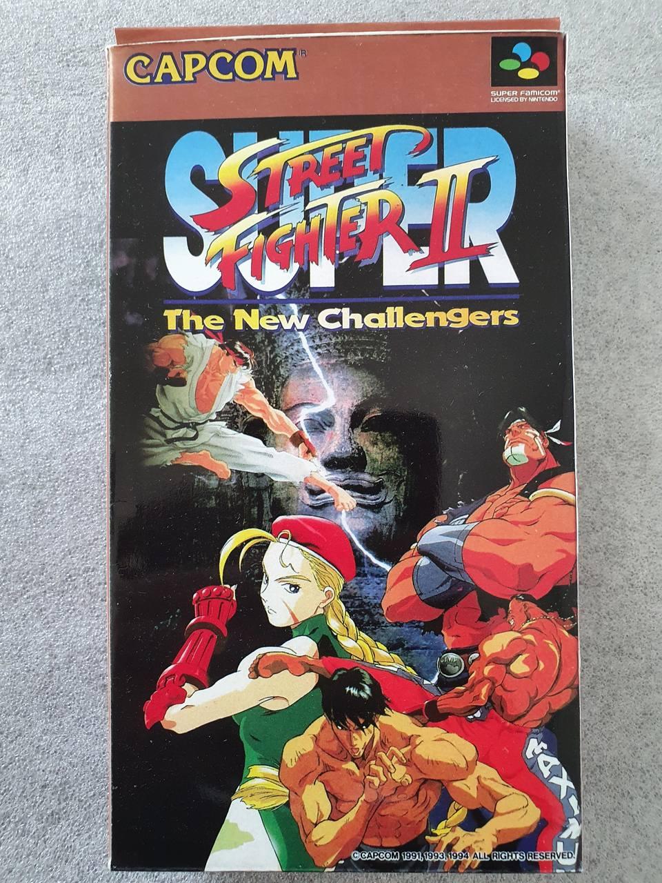 Super  Street Fighter II - The New Challengers - JP - Super Famicom - Usado
