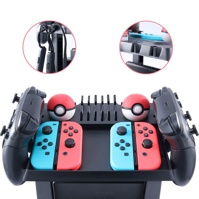 Suporte De Armazenamento Nintendo Switch - Envio Internacional