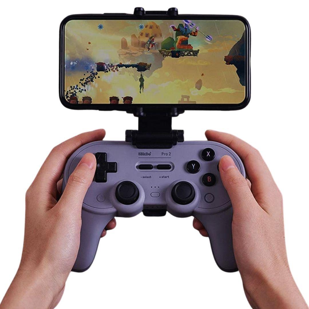 Suporte Para Smartphone/Switch Lite do Controle SN30 Pro 2 - 8BitDo - Pronta Entrega