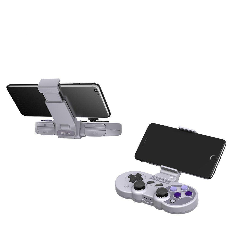 Suporte Xtander para Smartphone do Controle SF30 Pro / SN30 Pro  8BitDo - Envio Internacional - Frete Grátis