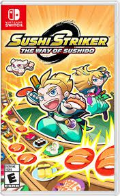 Sushi Striker The Way Of Sushido - Nintendo Switch