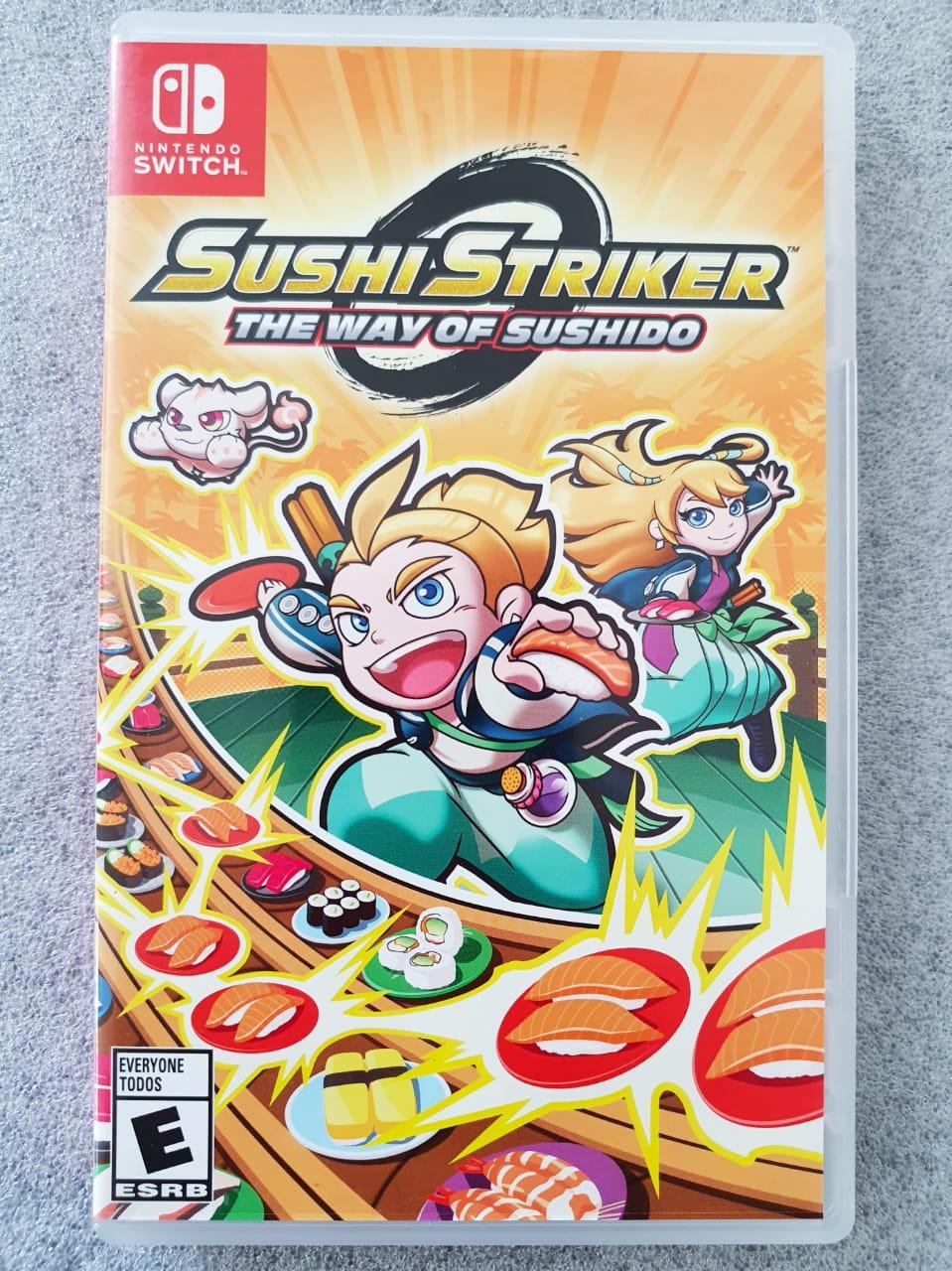 Sushi Striker: The Way Of Sushido - USADO - Nintendo Switch