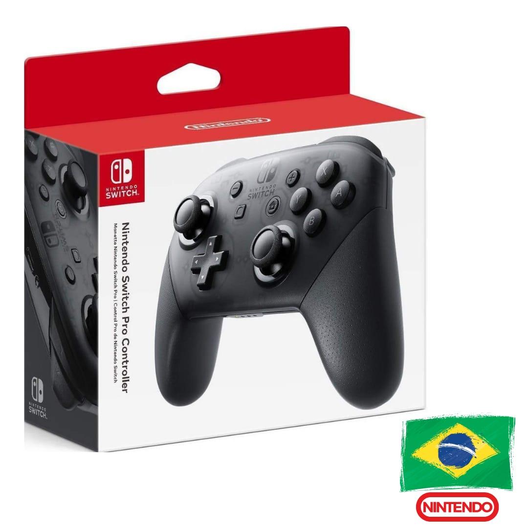 Switch Pro Controller - Nintendo Switch - Pronta Entrega - Versão Nacional