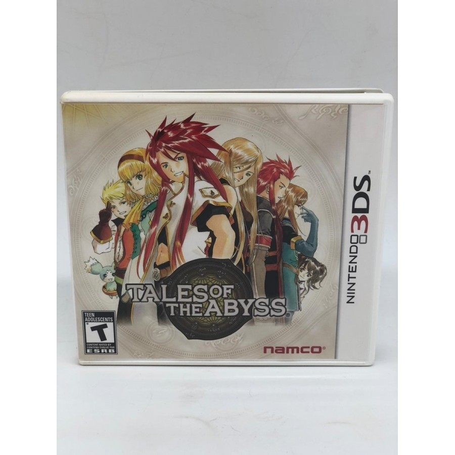 Tales Of The Abyss - Nintendo 3DS - USADO