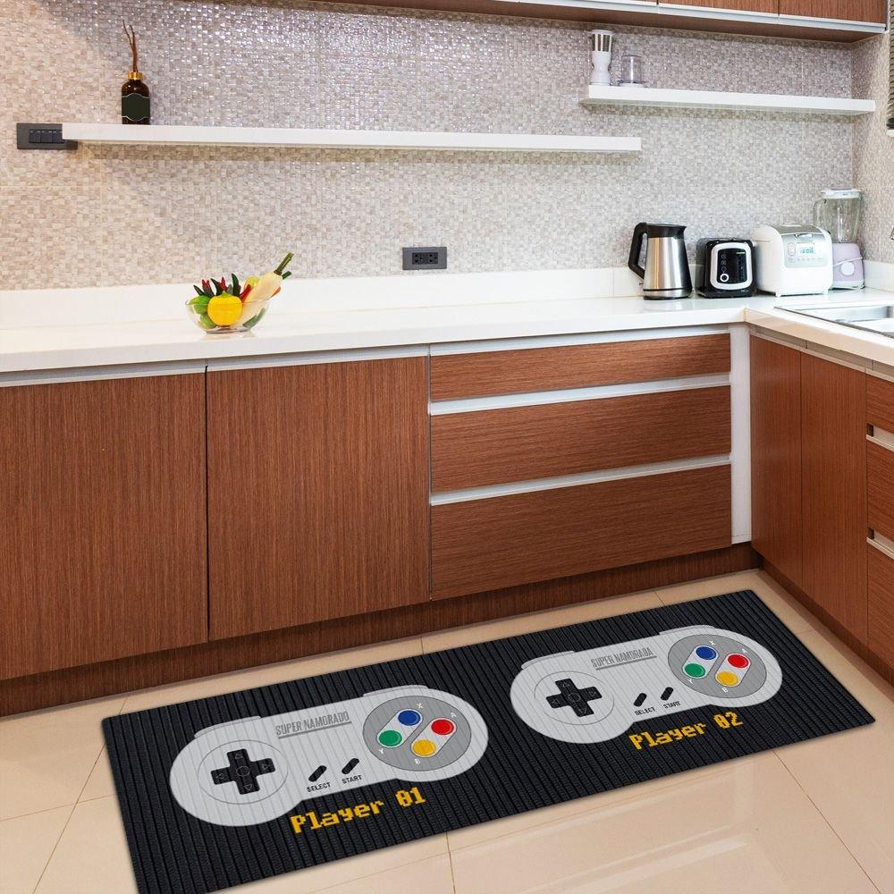 Tapete de Cozinha 1,25x0,40 cm - SNES