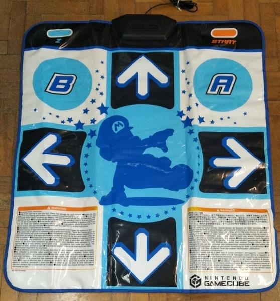 Tapete Game Pad Dance Dance Revolution Mario - Nintendo GameCube - Usado