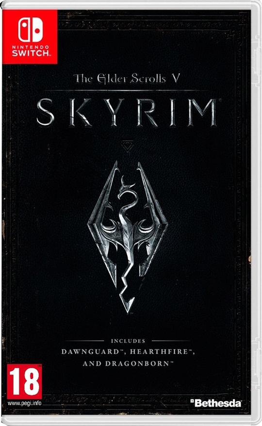 The Elder Scrolls V: Skyrim (EUR) - Nintendo Switch - ENVIO INTERNACIONAL