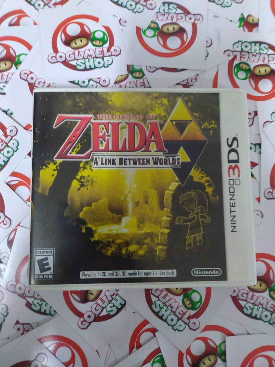 The Legend of Zelda: A Link Between Worlds - USADO - Nintendo 3DS