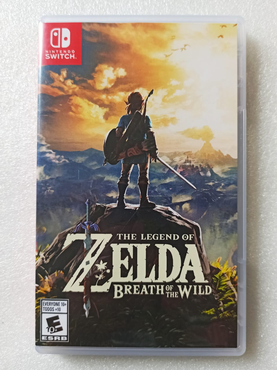 The Legend of Zelda: Breath of The Wild - USADO - Nintendo Switch