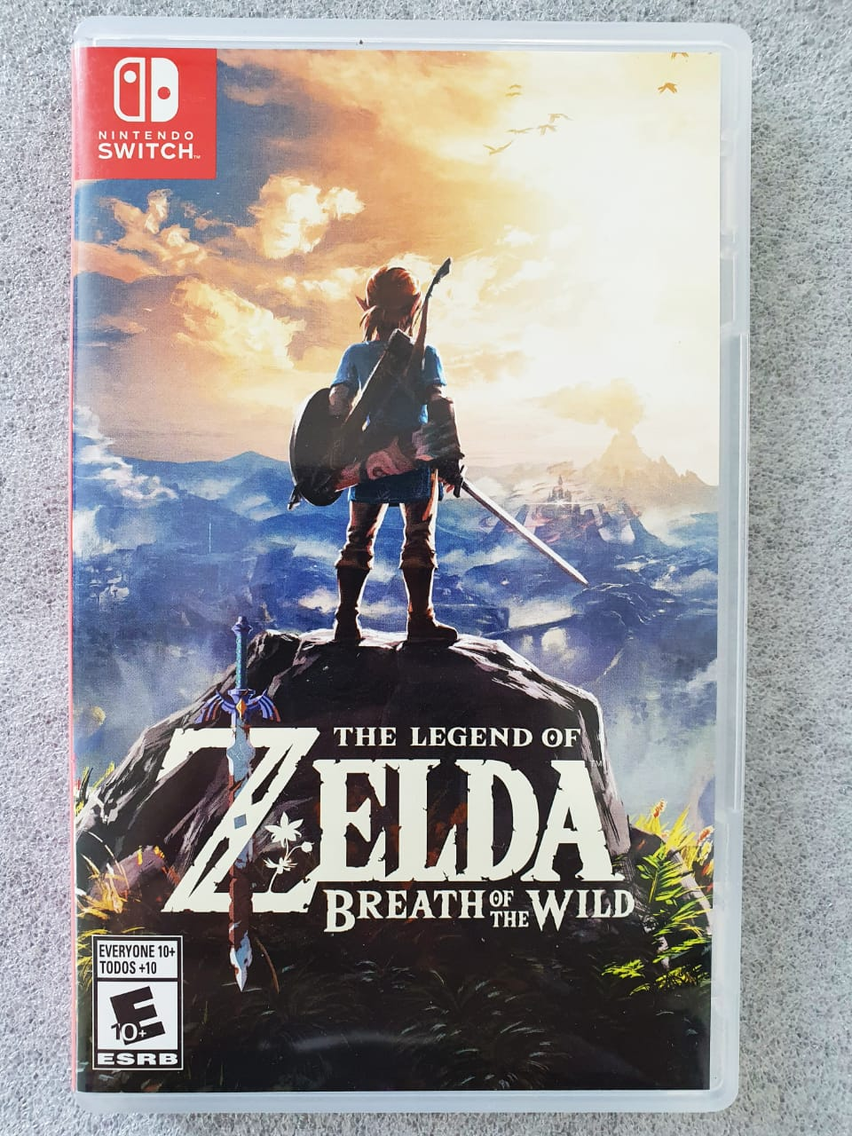 The Legend of Zelda: Breath of The Wild - USADO - Nintendo Switch