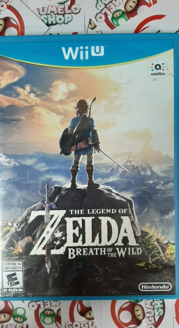 The Legend Of Zelda: Breath Of The Wild - USADO - Nintendo Wii U