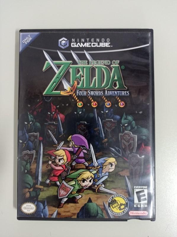 The Legend of Zelda: Four Swords Adventures - USADO - Nintendo GameCube