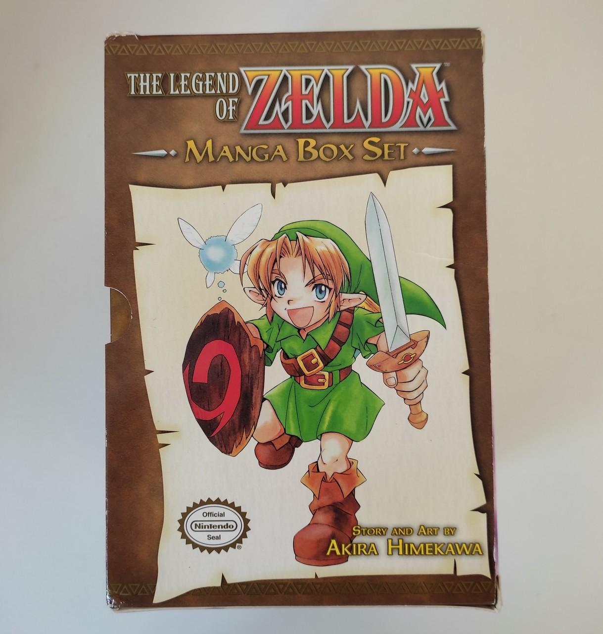 The Legend of Zelda - INGLÊS - Mangá BOX Set - Usado