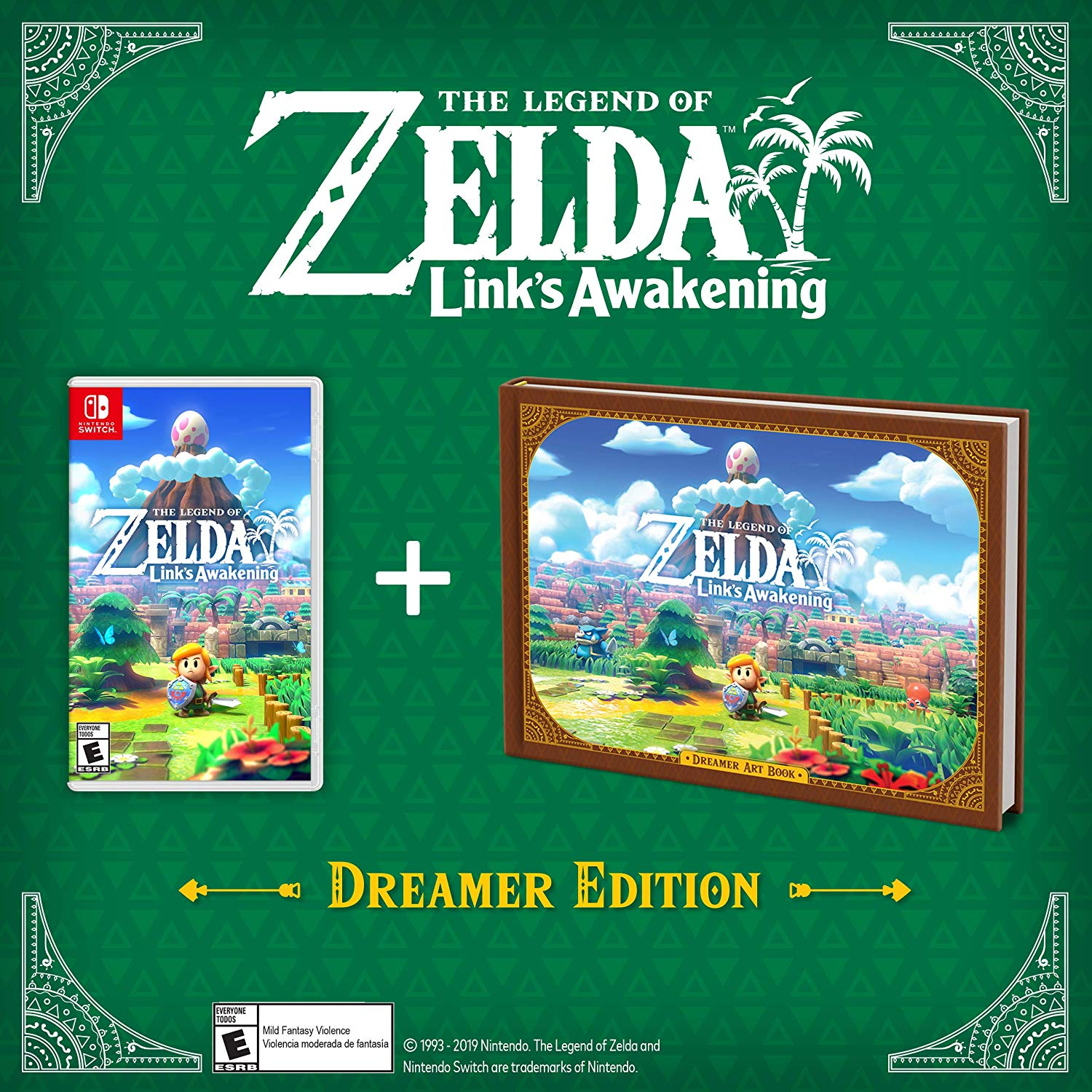 The Legend of Zelda Link's Awakening Dreamer Edition - Nintendo Switch