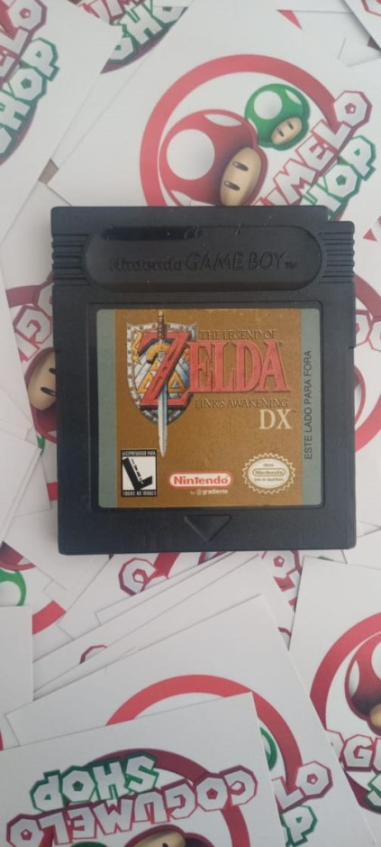 The Legend of Zelda: Link's Awakening DX - USADO - Nintendo Game Boy Color