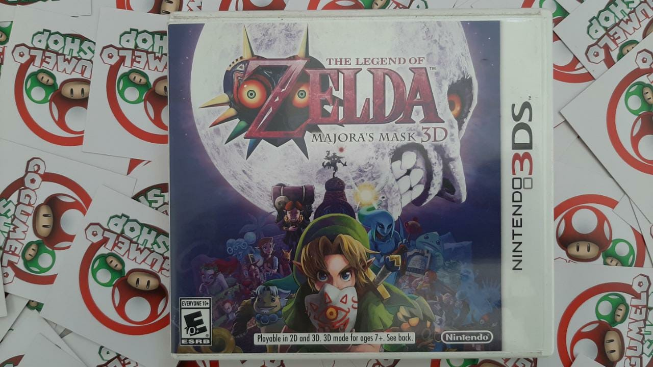 The Legend of Zelda: Majora's Mask 3D - USADO - Nintendo 3DS