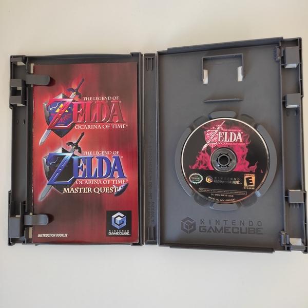 The Legend of Zelda: Ocarina of Time + Master Quest Bonus Disc - GameCube - Usado