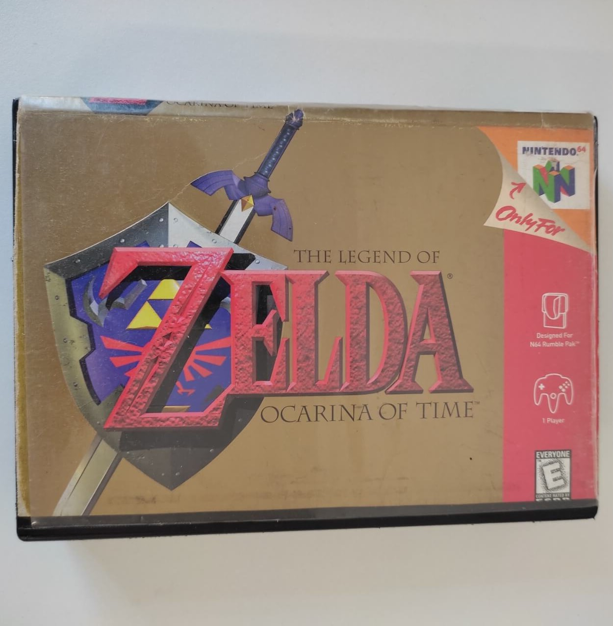 The Legend of Zelda: Ocarina of Time - Nintendo 64 - Usado