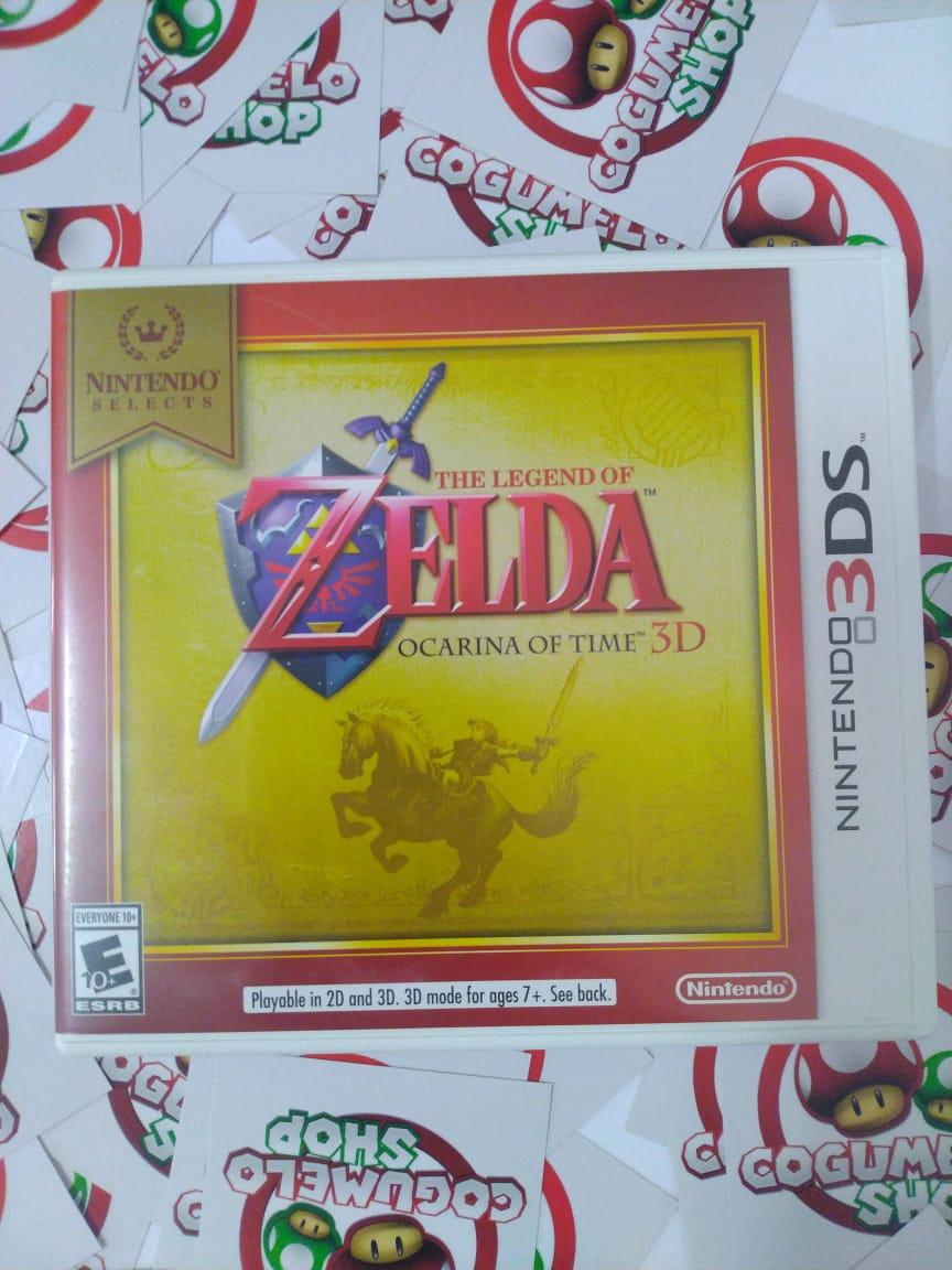 The Legend Of Zelda Ocarina Of Time USADO - Nintendo 3DS