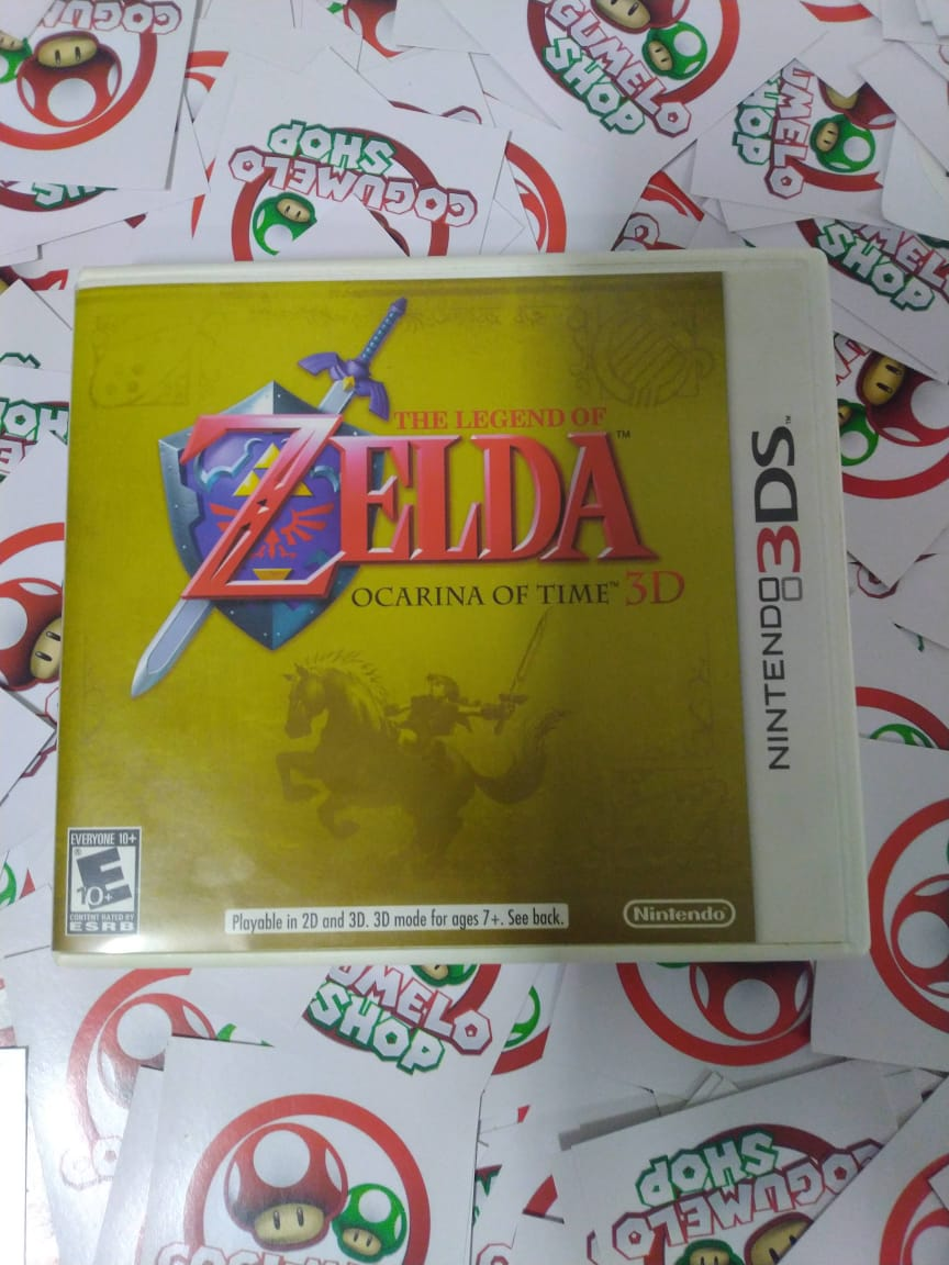 The Legend Of Zelda Ocarina Of Time - USADO - Nintendo 3DS