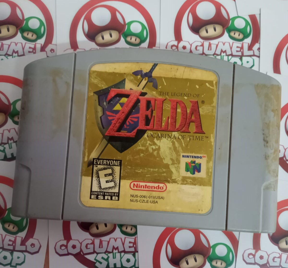 The Legend of Zelda: Ocarina of Time - USADO - Nintendo 64