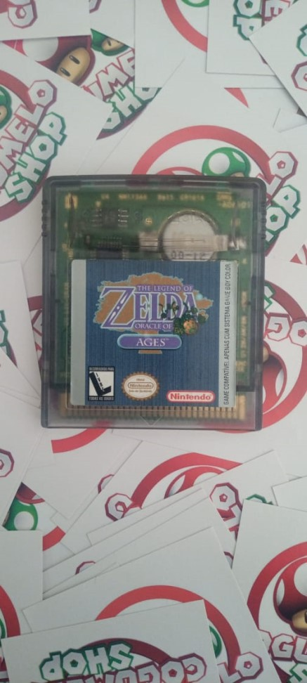 The Legend of Zelda: Oracle of Ages - USADO - Nintendo Game Boy Color