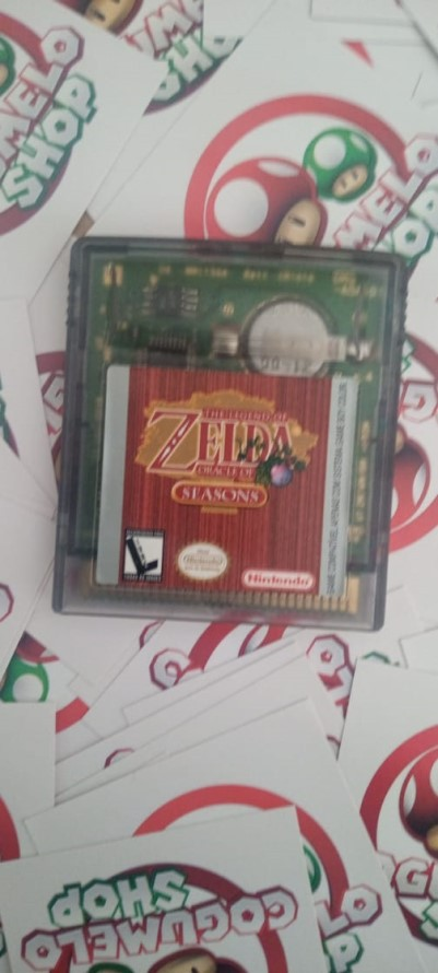 The Legend of Zelda: Oracle of Seasons - USADO - Nintendo Game Boy Color