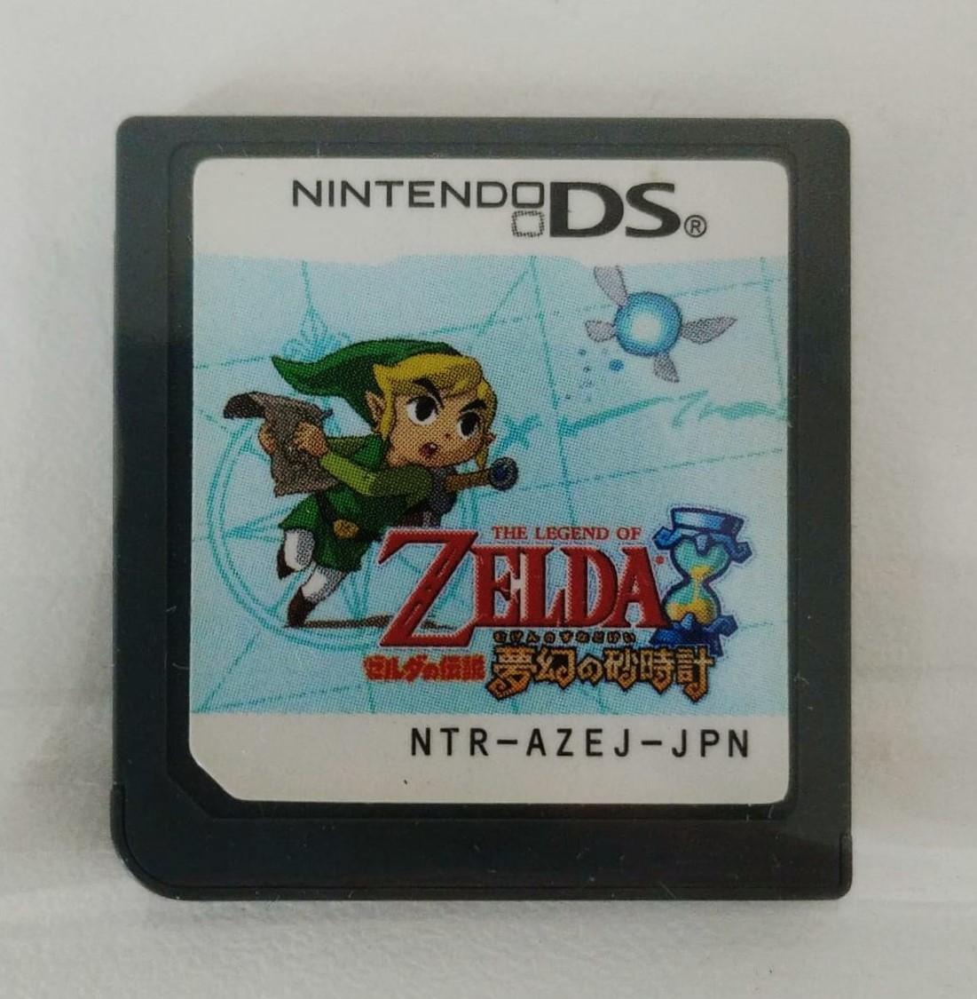 The Legend Of Zelda Phantom Hourglass - JAPONÊS - Cartucho - Nintendo DS - Usado