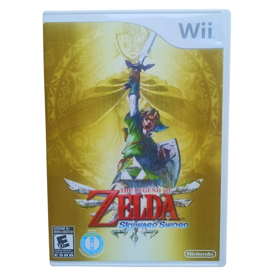 The Legend of Zelda: Skyward Sword - Nintendo Wii - Usado