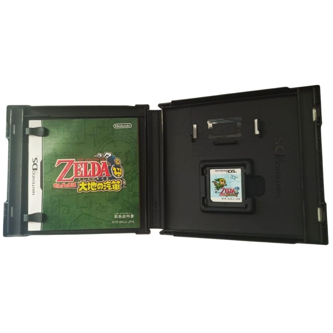 The Legend of Zelda: Spirit Tracks - Nintendo DS - Japonês - Usado