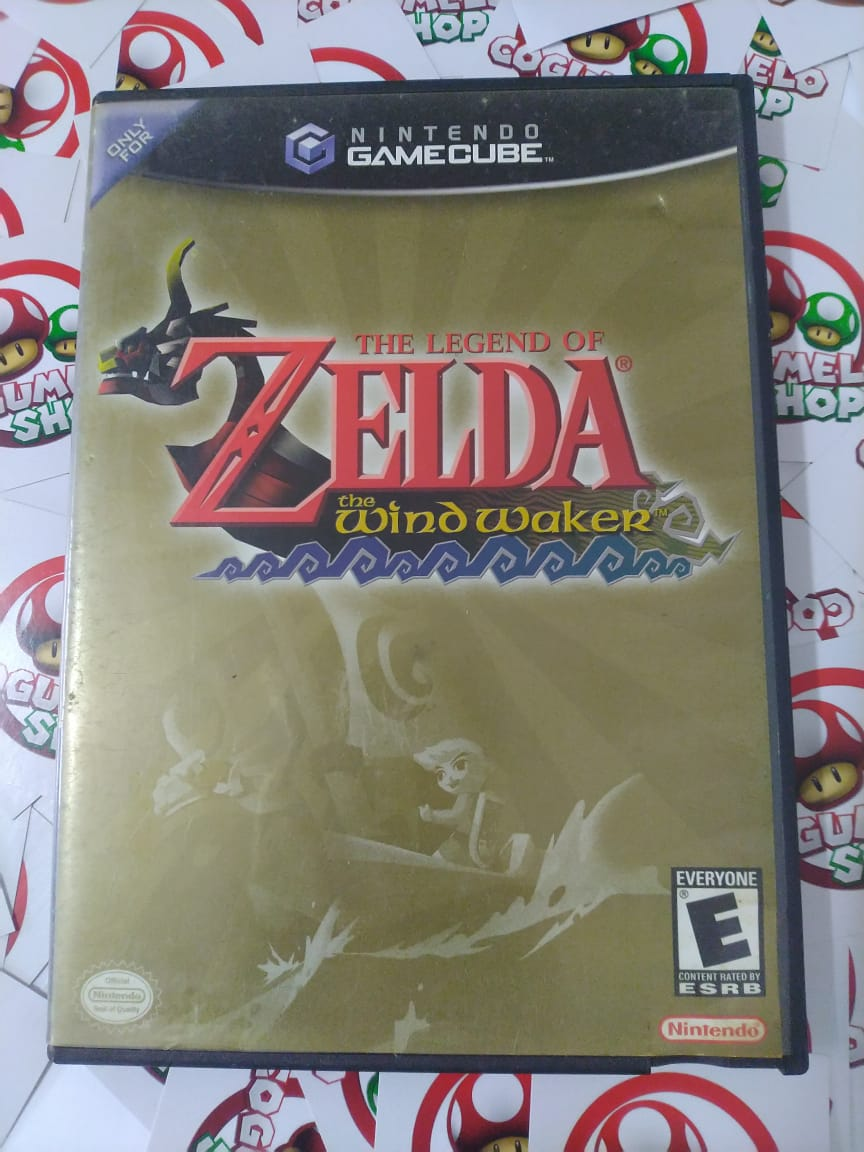 The Legend Of Zelda The Wind Waker - USADO - Nintendo GameCube