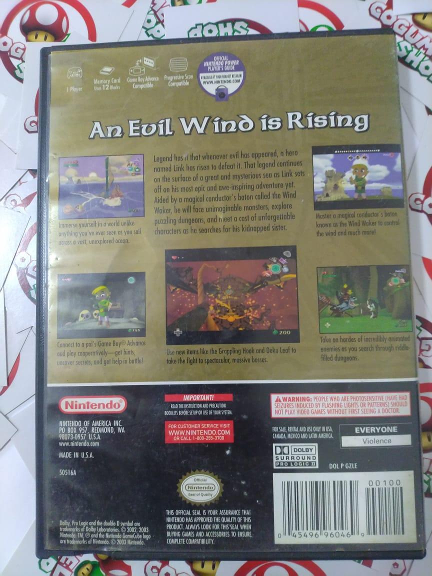 The Legend Of Zelda The Wind Waker - USADO - Nintendo GameCube