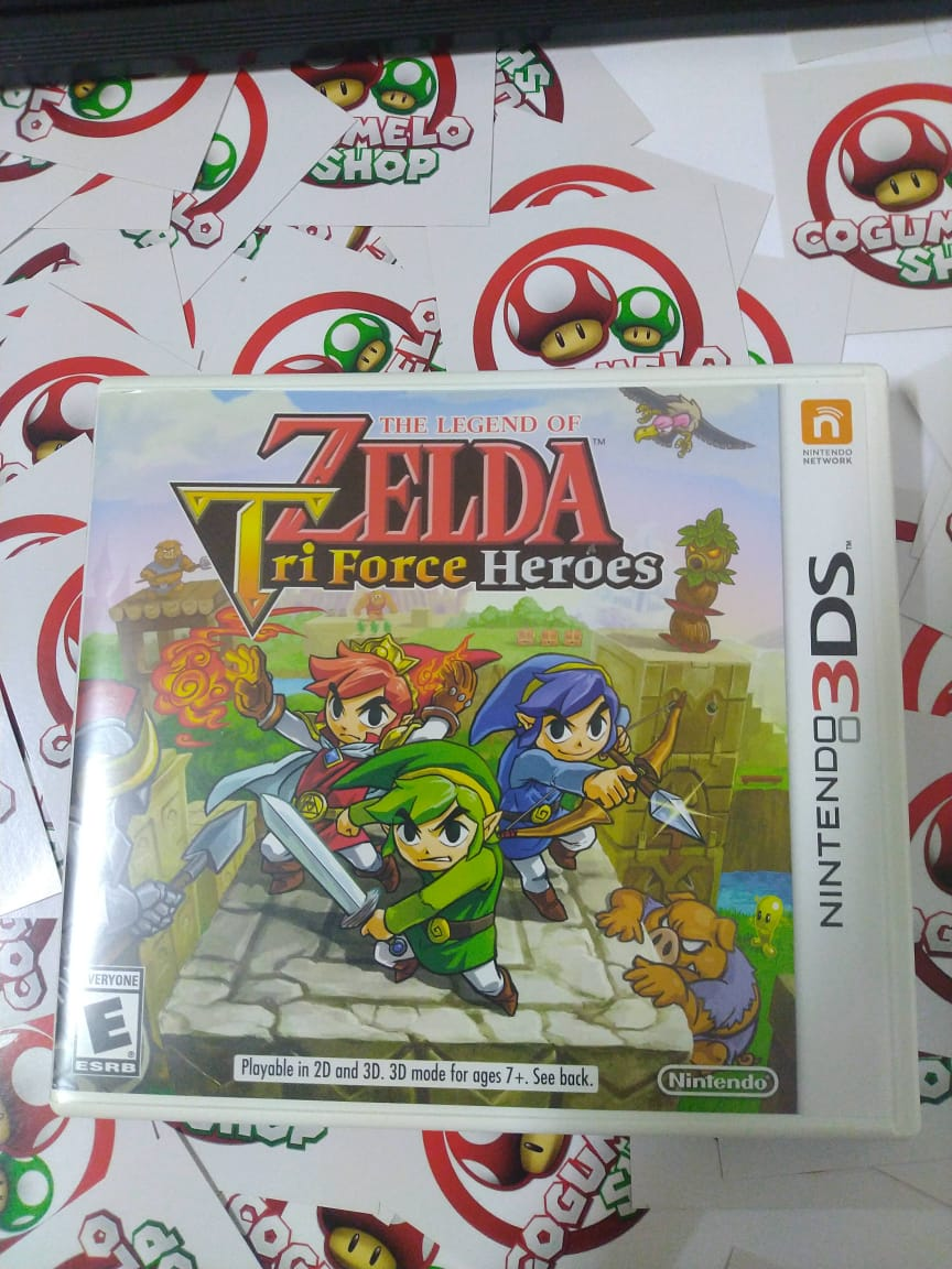 The Legend of Zelda Tri Force Heroes - USADO - Nintendo 3DS